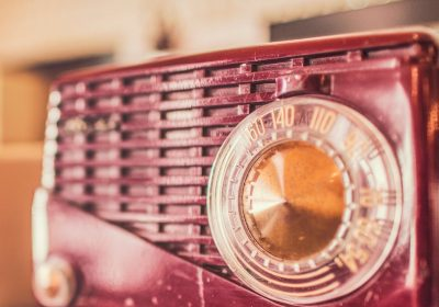 Red Vintage Radio